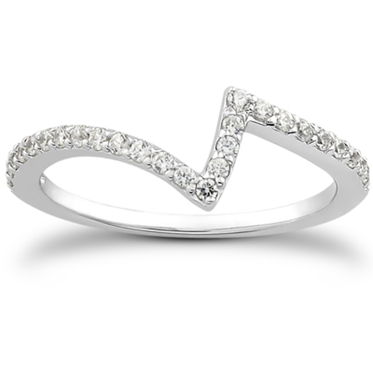 cc601069f2e Fancy Pave Diamond Wedding Ring Band in 14k White Gold - Richard Cannon  Jewelry