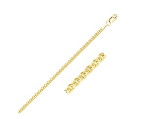 Forsantina Lite Cable Link Chain in 14k Yellow Gold (3.0 mm)