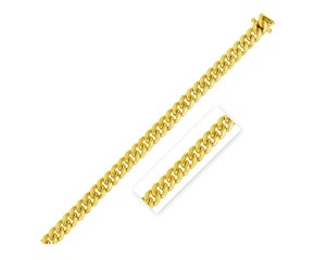 Classic Miami Cuban Chain in 14k Yellow Gold (4.0mm)