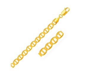 Mariner Link Bracelet in 14k Yellow Gold (6.3 mm)