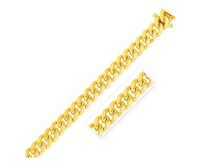 Classic Miami Cuban Chain in 14k Yellow Gold (10.0mm)